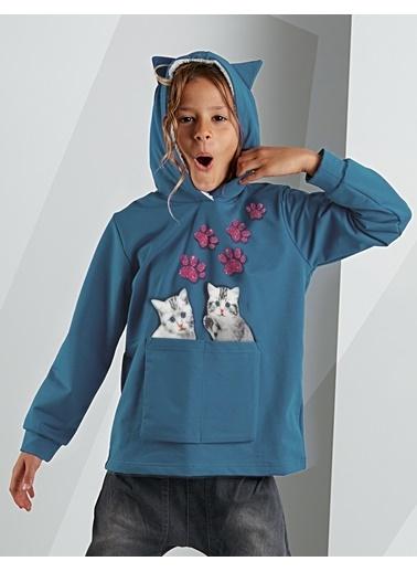 Mushi Sweatshirt Mavi